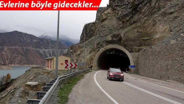 Yusufeli'ne 40 tünelle erişim sağlanıyor