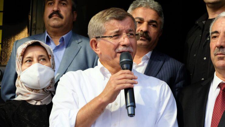 Gelecek Partisi Genel Başkanı Davutoğlu, Bingöl'de parti teşkilatlarının açılışına katıldı