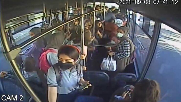 Otobüs şoförü, bayılan genç kızı güzergahını değiştirip hastaneye yetiştirdi