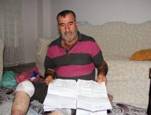 18 yıldır mücadele ettiği hastalıktan dolayı ayaklarının kesilmesini istemiyor